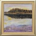 Liisa Facius-Kennell: Sininen hetki Salusjärvellä