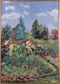 Eila Visti: Kaunis kes�p�iv� puutarhassa